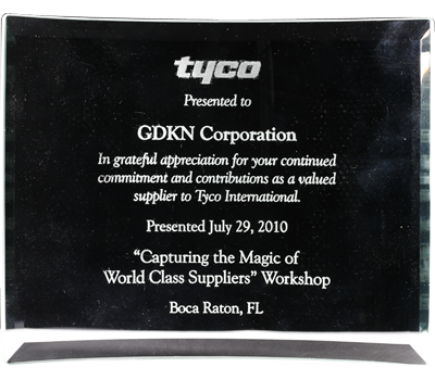 "Image, World Class Suppliers"" by Tyco Security Solutions - July 2010"